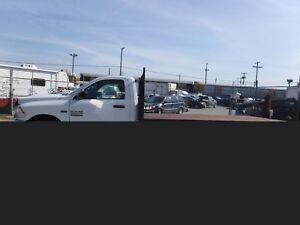 2013 Dodge Ram 3500 Regular Cab 12 Foot Flat Deck 4WD