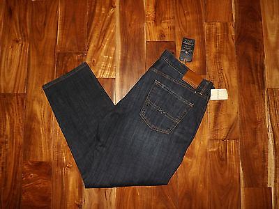 NWT Mens LUCKY 221 Original Straight Leg Dark Wash Denim Jeans 32 W x 30 L