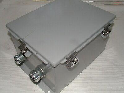 Hoffman A10086chnf Nema Type 4 Enclosure 10 X 8 X 6