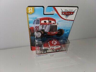 DISNEY Pixar Cars DUKE COULTERS Doc's Racing Days Die-cast Vehicle 2019 NEW HTF