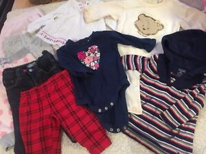 Baby girl clothing lot 3-6 months