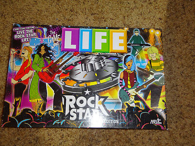 Game of LIFE ROCK STAR Edition - Rarer 2009 Version with Rock and Roll - Rock Star Theme