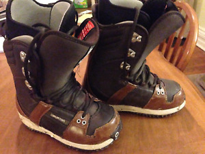 Burton Freestyle Snowboard Boots size 8