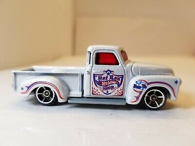 Hot Wheels '52 Chevy Truck White from 2011 Hot Rods 5-pk LOOSE READ
