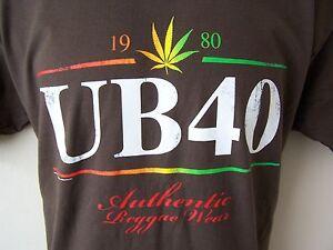 NEW-OFFICIAL-UB40-UB-40-2007-EUROPE-TOUR-BROWN-T-SHIRT-S-M-L-XL-XXL