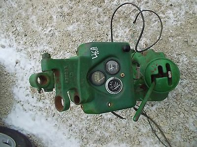 1946 John Deere A Tractor Jd Dash Panel Gauge Holder Steering Shifter Tower