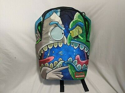 Rick and Morty Sprayground Backpack w/ Tags