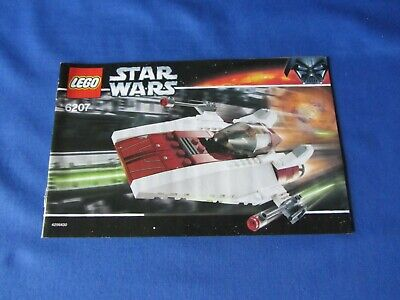 LEGO - Instructions (ONLY) for  Set 6207 A-wing Fighter