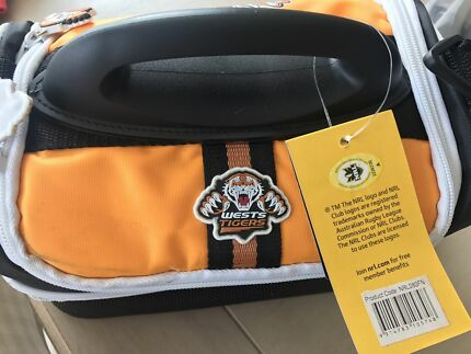 Brand new with tags Wests Tigers lunch bag
