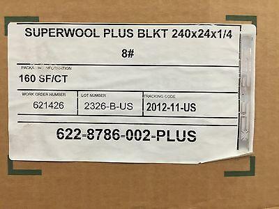 Safe Non-ceramic Fiber Blanket 14 X 24 X 20 8 Swplus