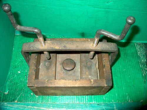 ANTIQUE WOOD & METAL PRESS-WHAT IS IT