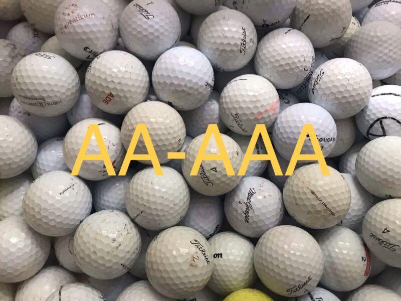 Golfbälle AA-AAA 50 Stück