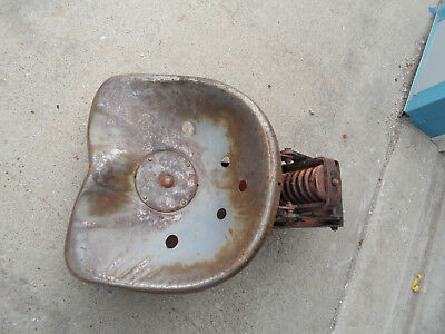 Tractor Mower Farm Implement Seat W Spring Heavy Farmall Ih International