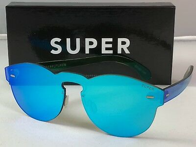 Retrosuperfuture Tuttolente Paloma Azure Frame Sunglasses SUPER 9CB 48mm NIB