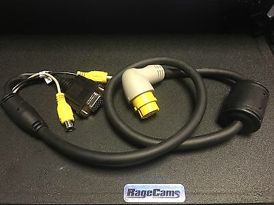 Garmin Marine GPS GPSMAP 7212 6012 7012 6012 7105 Video In Adapter Camera Cable