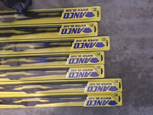 28 in anco wiper blades new in box (7 available)