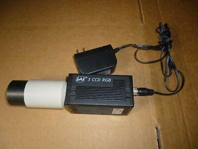 Jai Microscope Camera 3 Ccd Rgb Cv-m9cl Adapter