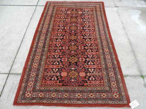5x8ft. Handmade Caucasian Shirvan Perpedil Wool Rug
