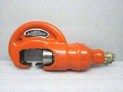 Thomas Betts Tbm-15pf 15 Ton Insulated Hydraulic Remote Crimper Head