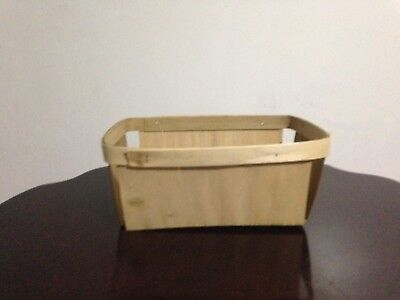 Rectangle Berry Baskets ~ 4 Quart ~ Christmas Thanksgiving Party Picnic Baskets