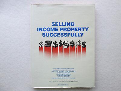 Selling Income Property Successfully By John Allen 1976 Hcdj California Realtors