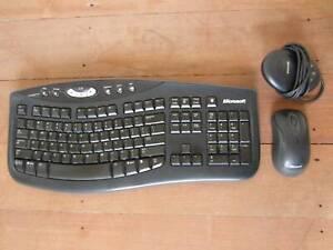 Microsoft Optical Wireless Keyboard & Mouse 2000