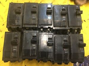 Electric Breakers Panel 15A 20A 40A