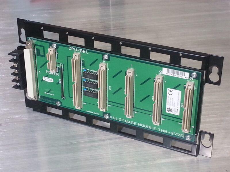 Toyoda Selector Base Module 4-Slot Toyopuc Series # THR-2775