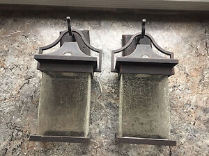 New out door lights for sale. Two available! $20 Each