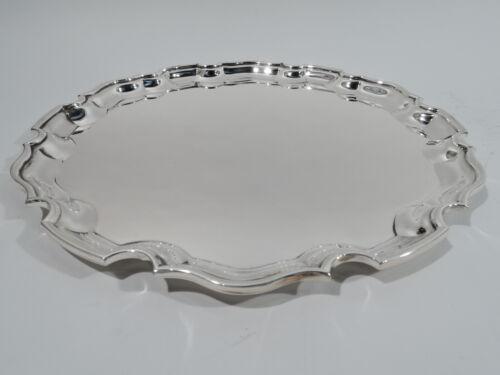 Tiffany Tray - 24070 - Georgian Piecrust - American Sterling Silver