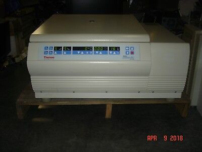 Sorvall Legend Rt 15k Refrigerated Centrifuge W Rotor Spins Cools Sold As-is