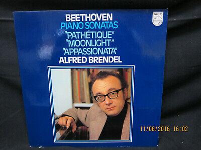 Alfred Brendel - Beethoven Piano Sonatas - Pathetique, Moonlight, Appassionata ()