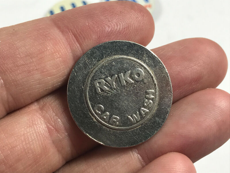 Vintage Ryko Car Wash Coin Token