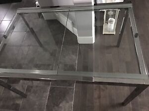 IKEA Glass Extendable Kitchen Table