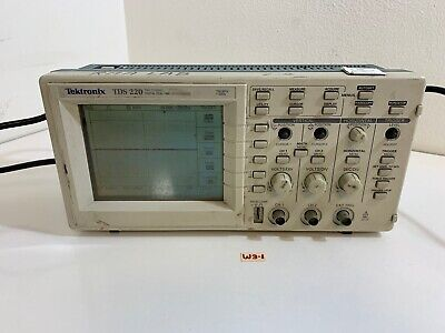 Tektronix Tds220 Two Channel Digital Real-time Oscilloscope 100mhz 1gsstested