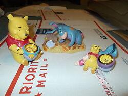 3 Winnie the pooh desk clock's Mint