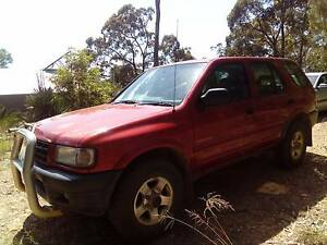 1999 Holden Frontera Wagon Eurobodalla Area Preview