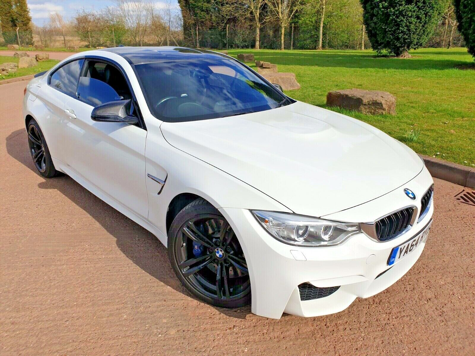 2015 WHITE BMW M4 COUPE 3.0 BITURBO SEMI AUTO M DCT 40K LOW MILES