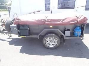 2010 Clarkes Country Offroad 7' Camper Trailer Bungalow Cairns City Preview