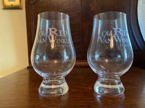 """OLD RIP VAN WINKLE BOURBON...""""GLENCAIRN"""" GLASSES...2..."""