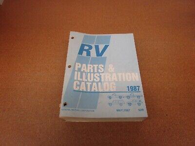 1987 Chevrolet R/V pickup truck Suburban parts catalog book manual
