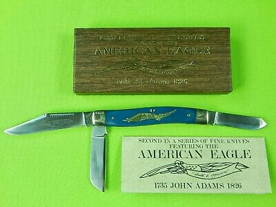 Vintage American Eagle Parker Schrade Walden Cut E2 Limited Folding Knife
