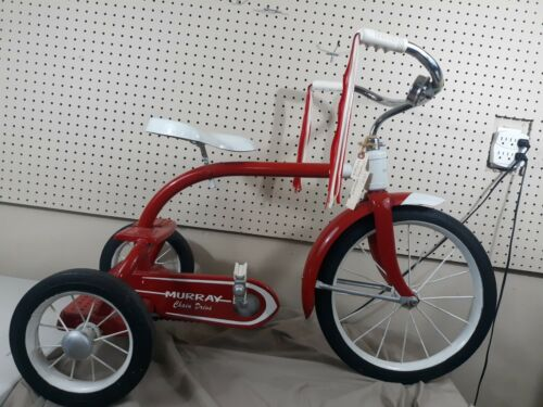 Vintage 1948 Restored MURRAY  CHAIN DRIVE TRICYCLE Red Trike (Used - 425 USD)