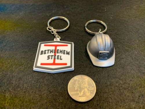 Bethlehem Steel Key Chains - Set of Two (New)