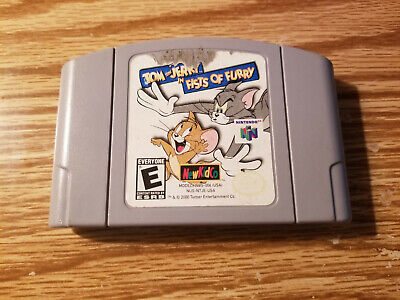 Tom and Jerry in Fists of Furry N64 (Nintendo 64, 2000) Cart Only