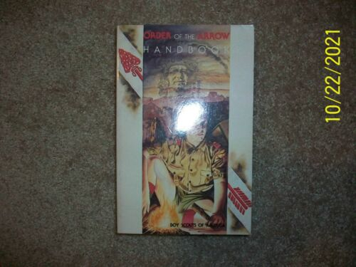 BSA Boy Scout New Order of the Arrow Handbook Book National Honor Society 1992