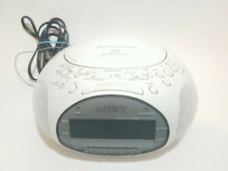 Sony Dream Machine ICF-CD831 CD Player/AM FM Radio/Alarm Clock White