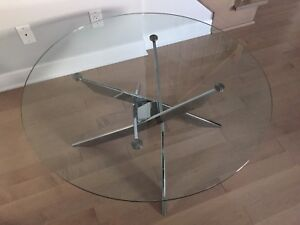 Table de salon en verre Structube