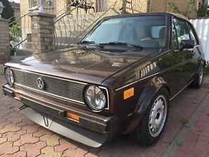 1986 Volkswagen Cabrio Mk1