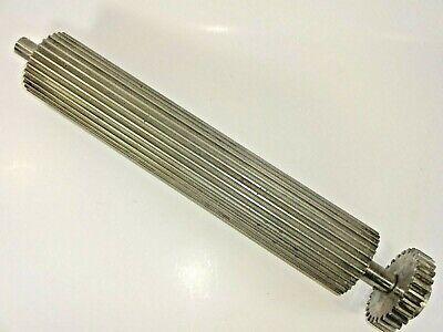 Used Kook-E-King Feed Roller Part No. 274-177-3 w/ Gear  - Feed Roller Gear